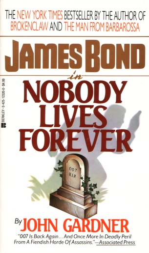 NOBODY LIVES FOR EVER